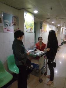 每个人心中都有一个天使梦 记护理学院2016年4月24日南京市第一医院